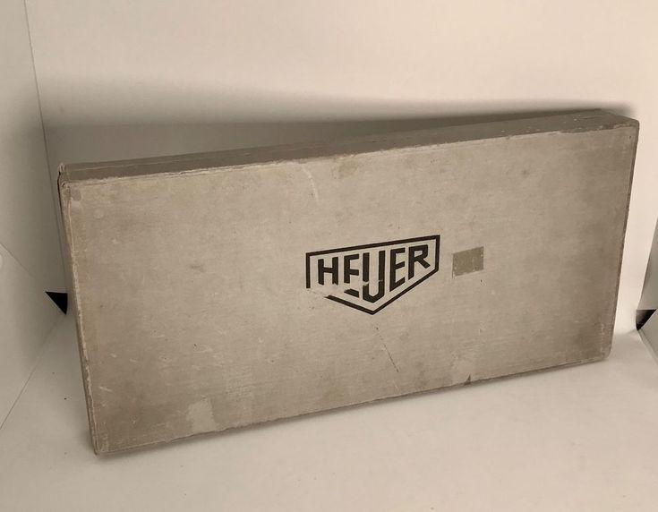 Original Heuer Box für Uhrmacher,Watch Box, Uhren Box  | eBay