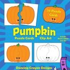 Pumpkin Clip Art: Pumpkin Puzzle Cards  These friendly pumpkin puzzle cards have been designed especially for teachers to create their own games an... $3.00