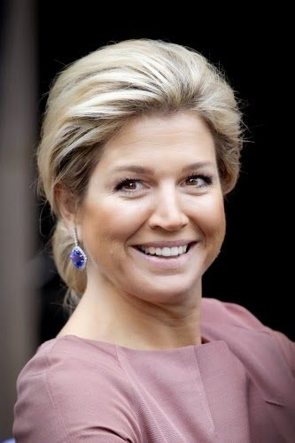 06 November 2013 King Willem-Alexander and Queen Maxima attended the Erasmus award ceremony of the Praemium Erasmianum foundation at the royal palace in Amsterdam