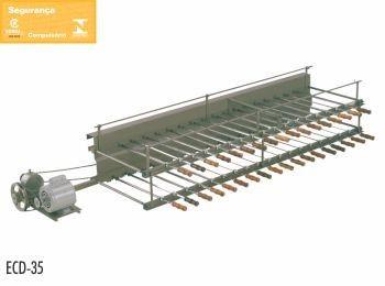 Churrasqueira Rotativa Comercial A Carvão 35 Espetos Tomasi - ECD-35 220V