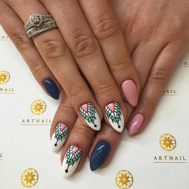 #ShareIG #azteckie#wzory#manicure#paznokcie#artnail#cracow#mani#zdobienia