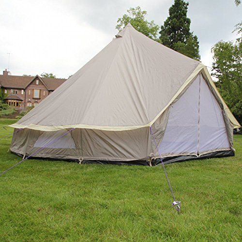 Boutique Camping 4m Lightweight Zipped In Ground Sheet Bell Tent