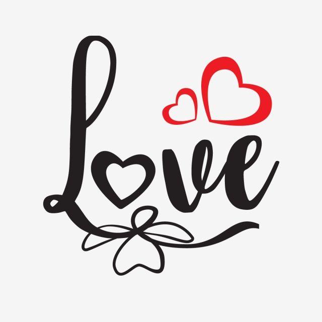 Texte D Amour Avec Coeurs La Saint Valentin Valentine La Typographie Png Et Vecteur Pour Telechargement Gratuit In 2021 Love Text Happy Valentines Day Pictures Broken Heart Pictures