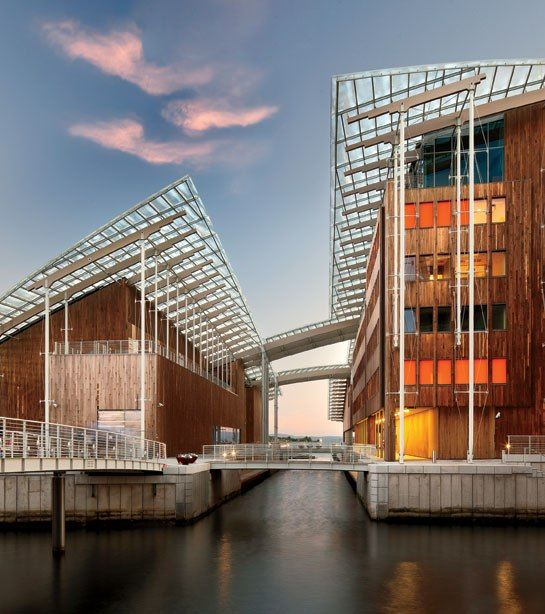 The Renzo Piano–designed Astrup Fearnley Museet in Oslo.