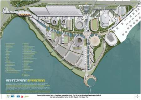 olympic games rio masterplan