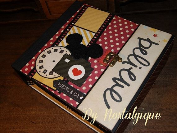 9 x 8 Say Cheese Mini Album Disney PDF by NostalgiqueScrap on Etsy