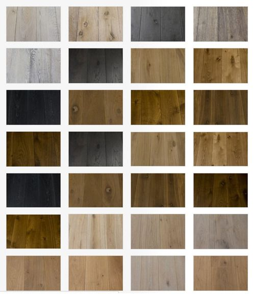 WOOD: Colour overview