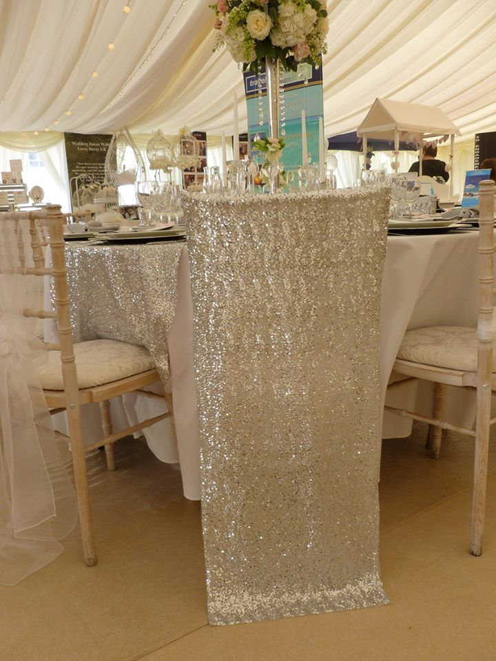 New Sequined Chair Hoods From Simply Bows and Chair Covers