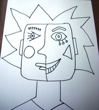 Pablo Picasso Cubism For Kids |