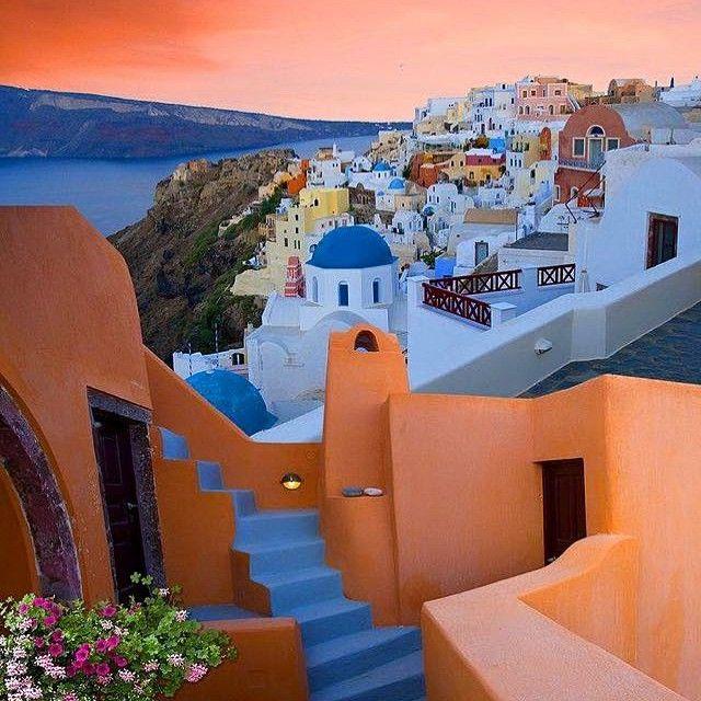 What a beauty around this island! #Architecture #Santorini Photo credits: @tritiani