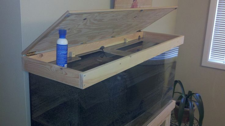 DIY 55 Gallon Tank Stand