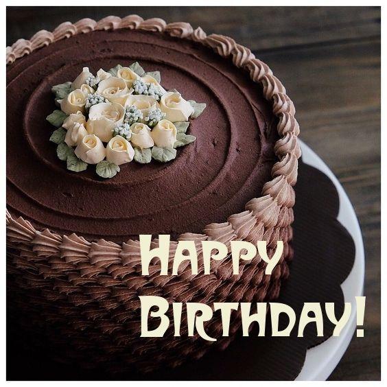 Happy Birthday - chocolate cake - O.K. for Man -  original text by lechezz