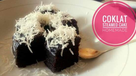 Coklat Steamed Cake super moist,,