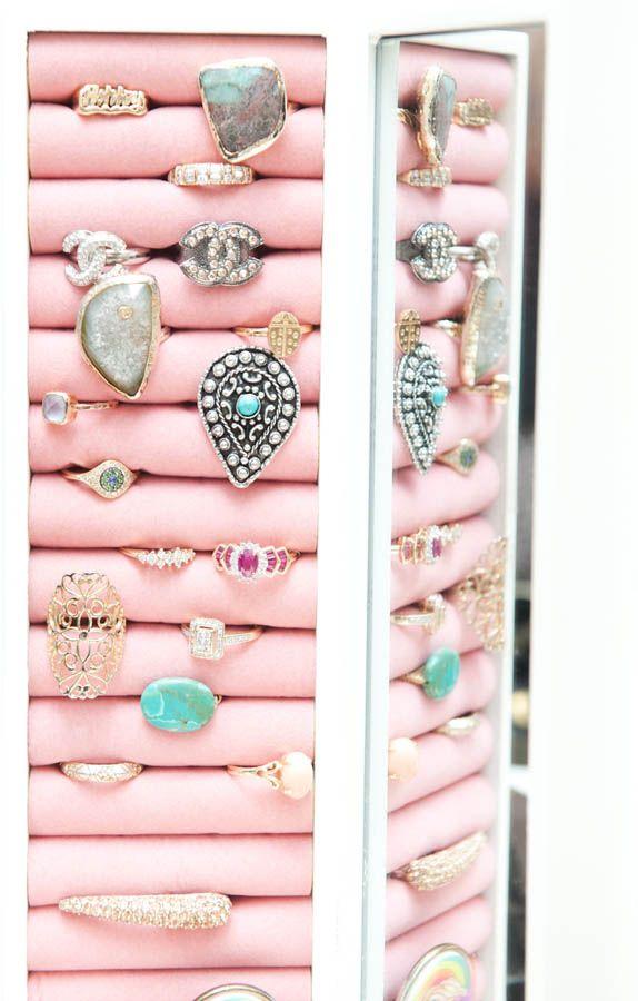 rings and thingsOrganic Ideas, Organic Jewelry, Jewelry Stands, Rings Holders, Jewelry Holders, Ashleytisdale, Pink Jewelry, Ashley Tisdale, Rings And Things