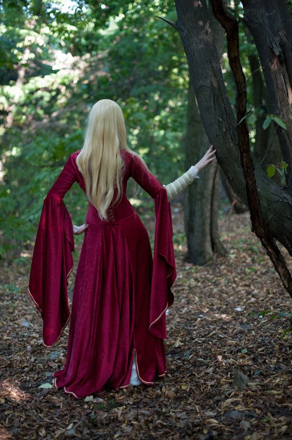 """Being inspired by """"Game of Thrones"""" and """"The Lord of the Rings"""" costuming, we…"""