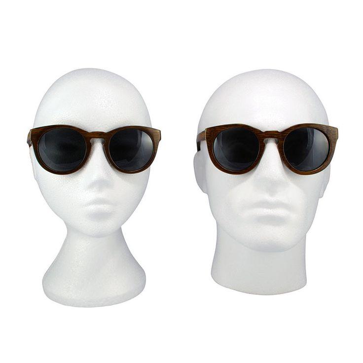 """Ξύλινα Γυαλιά Ηλίου Pantos """"POLY"""" Brown"""