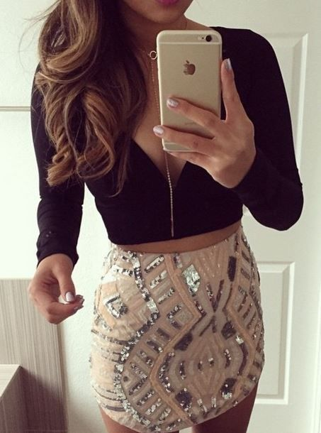 This skirt though