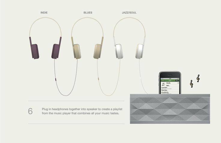 Fusefones intelligient headphones / Design Academy Eindhoven