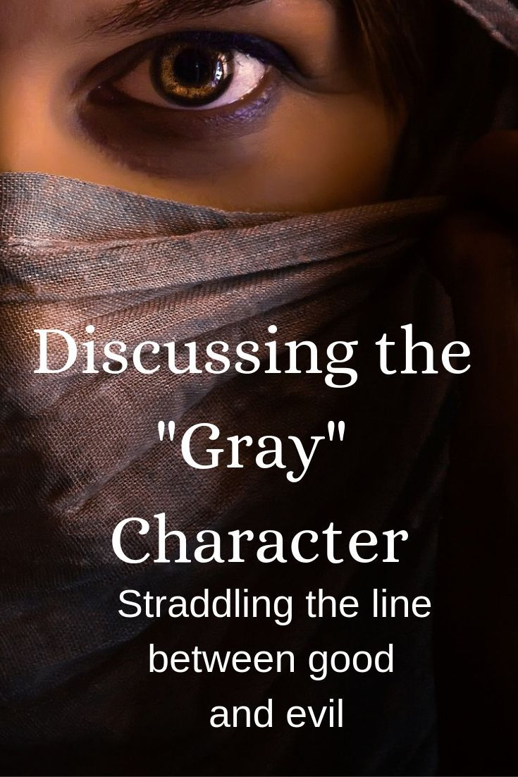 Coffee with a Writer: The Gray Character