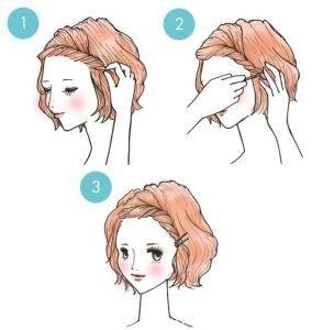 Peinado para Cabello Corto DIYrosa.com Facebook: fb.com/DIYrosa Twitter: @DIYrosa