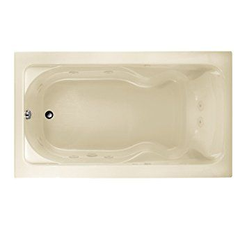 """Review American Standard 2774018W.222 Cadet 6-Feet by 42-Inch Whirlpool with Hydro Massage System-I, Linen (2774018W.222) search and price trends.       0 100 non-porous sanitary grade acrylic """"Easy Clean"""" surface; Heat retentive heavy gauge acrylic; 2 Stainless Steel 1 inch """"T"""" frames supply structural support.     Chrome plated toe tap drain stopper; Copper and steel drain pipe; Drain Placement:     2 Fade tolerant, smart white, high gloss 3M Finish; Colorfast. Color permeates the acrylic…"""