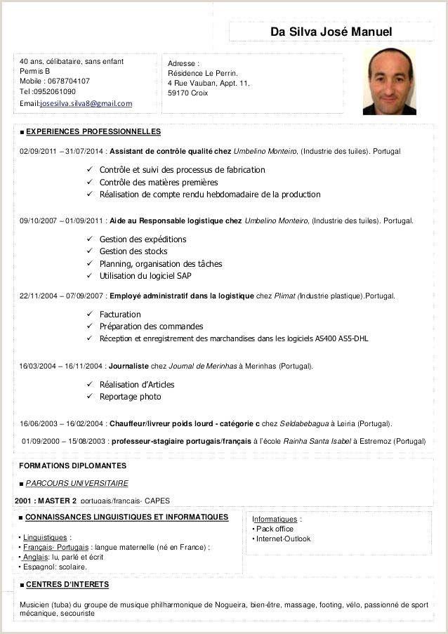 Exemple De Cv Au Maroc Exemple De Cv Au Maroc . Exemple De ...