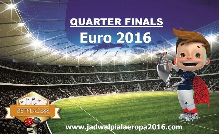 Inilah jadwal pertandingan babak Perempat Final Euro 2016 atau Piala Eropa yang mempertemukan 8 tim terbaik yang telah memastikan lolos dari babak 16 besar. 8 tim yang masih berpeluang untuk menjad…
