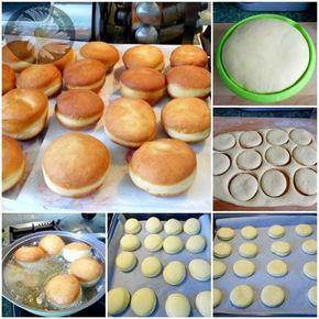 Υλικά για περίπου 25 -30 ντόνατς 4 φλιτζάνια αλεύρι 6 κρόκους από μεγάλα αυγά 3…