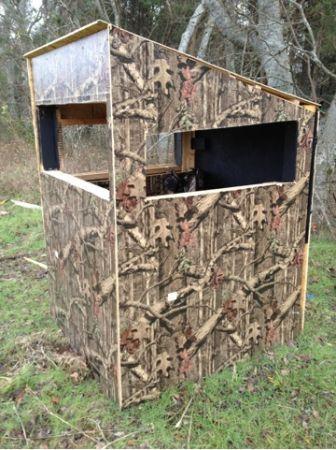 17 best ideas about deer blinds on pinterest hunting for Best deer blinds