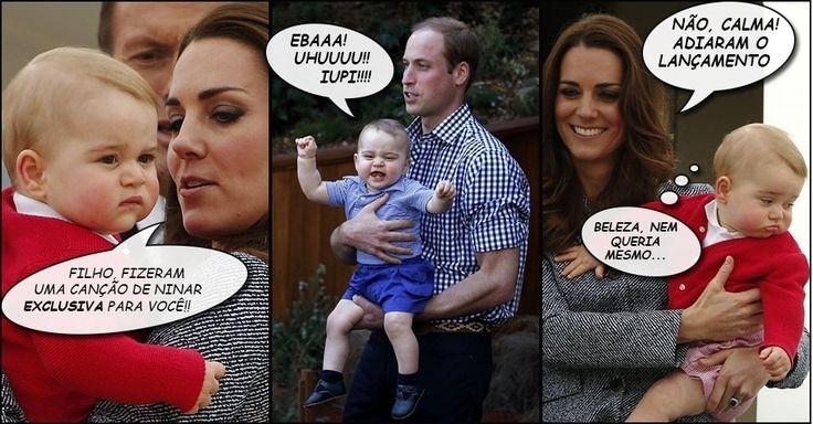 Nasce filha de Kate Middleton e Príncipe William, a 4ª na sucessão ao trono - Entretenimento - BOL Notícias