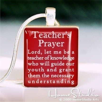 Best 25 christian teacher gifts ideas on pinterest scripture teachers prayer pendant jewelry from a scrabble great for teacher appreciation gift or end of year beginning of school year great for christian teacher negle Choice Image