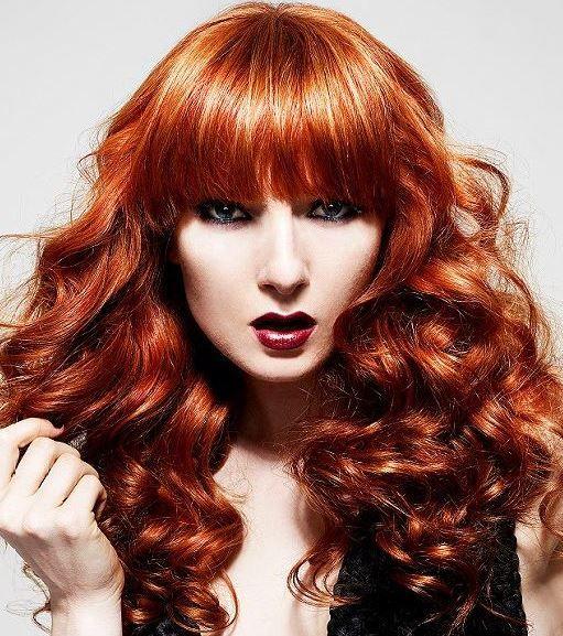 Altın Kızıl Saç Rengi ve Modelleri 2014