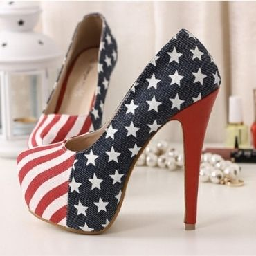 Europen Styles Night Club Thick Platform High Stilletto Heels Blue Women Shoes, $45.33