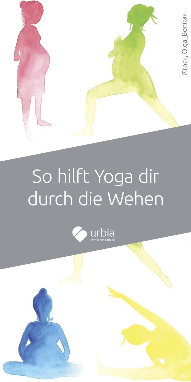 Mit Yoga durch die Wehen