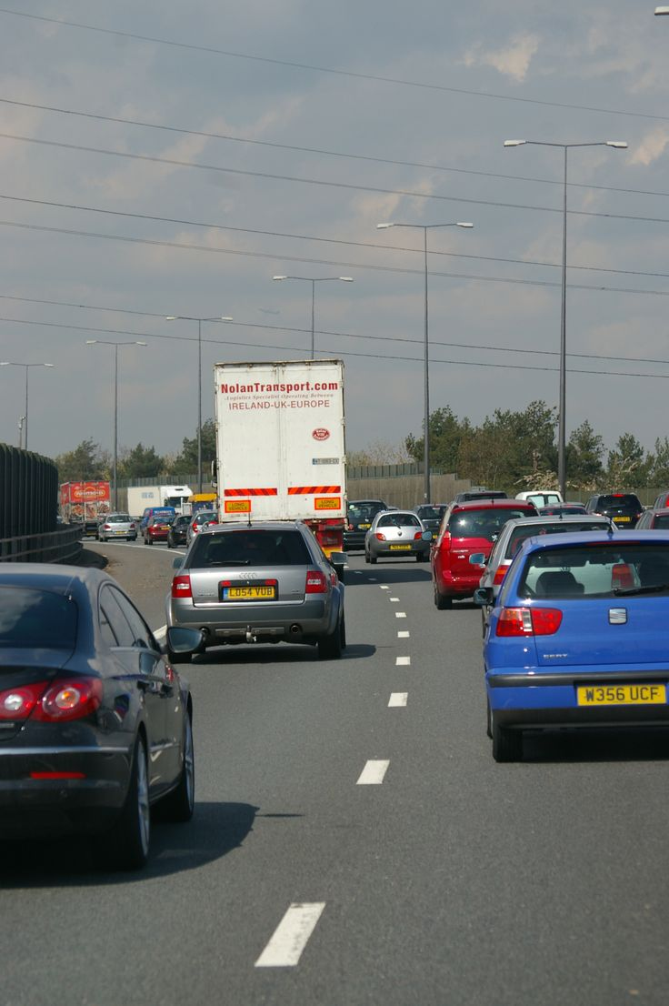 Although still busy, the M25 was flowing quite well on the day of our 1spin around London'd Orbital Motorway.