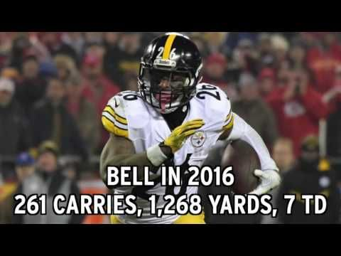 Pittsburgh Steelers Use Franchise Tag On Le'Veon Bell