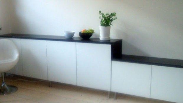 Carpet Tiles For Basement: Besta Ikea White Creative