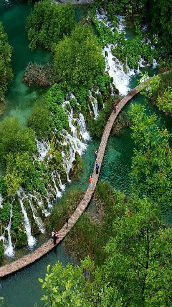 Parque Nacional de Los Lagos de Plitvice. Croacia.