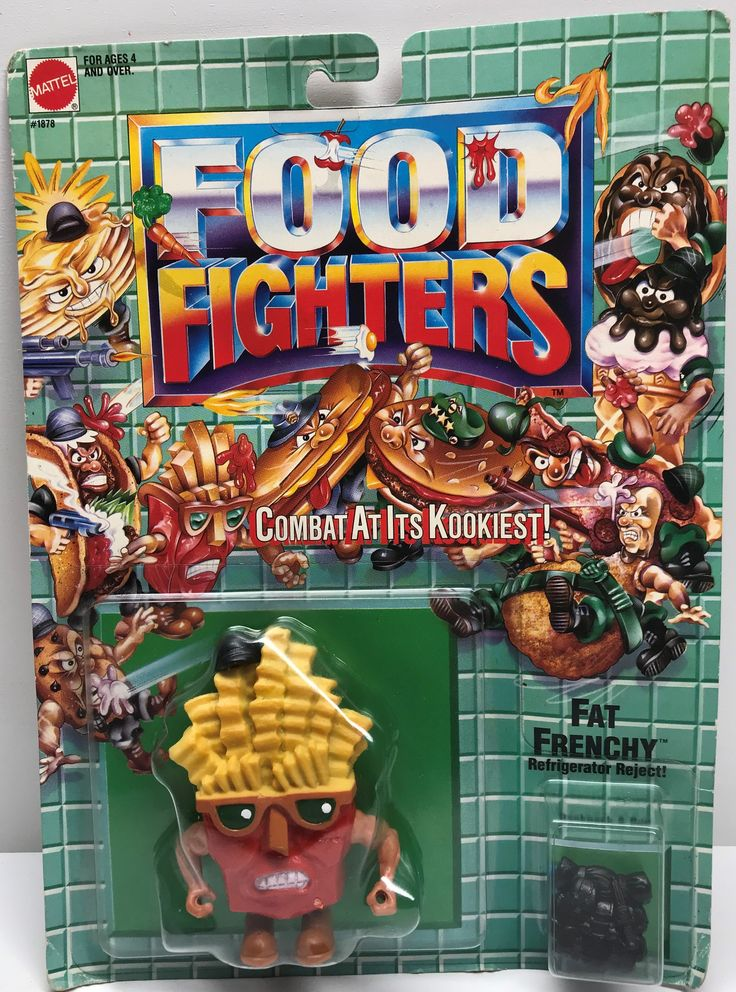 The Angry Spider Has All Of The Toys You Want For Your Collection: TAS038074 - 1988 ...  Check it out here! http://theangryspider.com/products/tas038074-1988-mattel-food-fighters-fat-frenchy-refrigerator-reject?utm_campaign=social_autopilot&utm_source=pin&utm_medium=pin