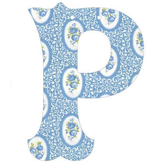 P Fancy Font Wallpaper Letter