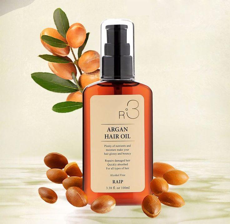 Raip R3 Nourishing Argan Hair Oil 100ml from S.Korea #RAIP