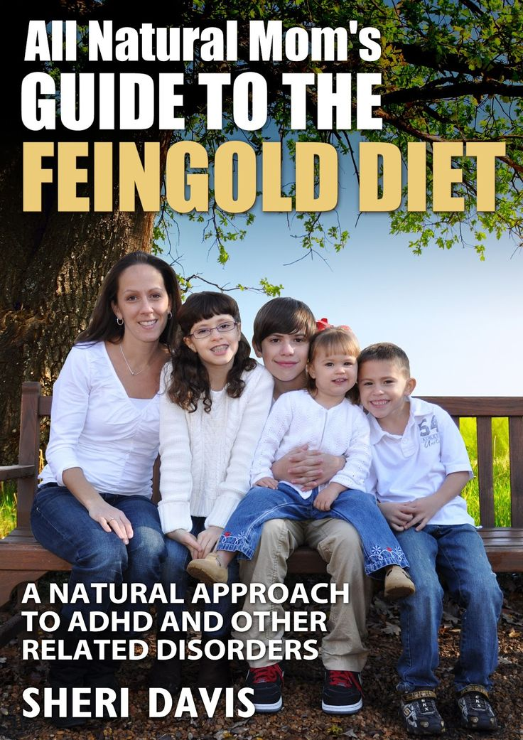 All Natural Mom: All Natural Mom's Guide to the Feingold Diet Intro