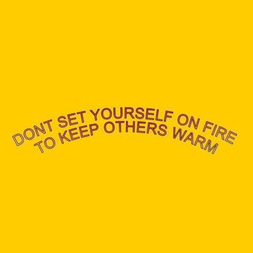 quote, yellow, and aesthetic image