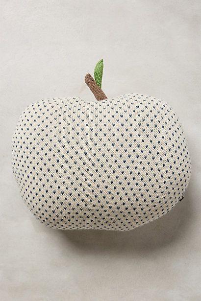 alpaca apple pillow