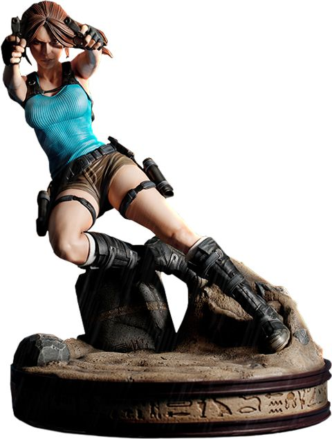 Tomb Raider Lara Croft Temple of Osiris Statue by Gaming Hea | Sideshow Collectibles