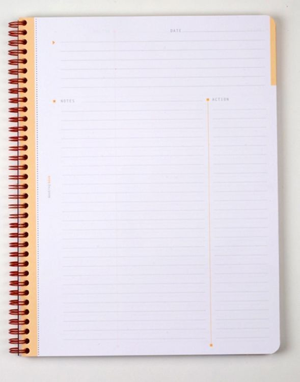 best notebooks journals organization office supplies  rhodia 193411 6 x 8 meeting book lined paper w white ice cover this notebook is designed to be an all in one record of meeting discussions