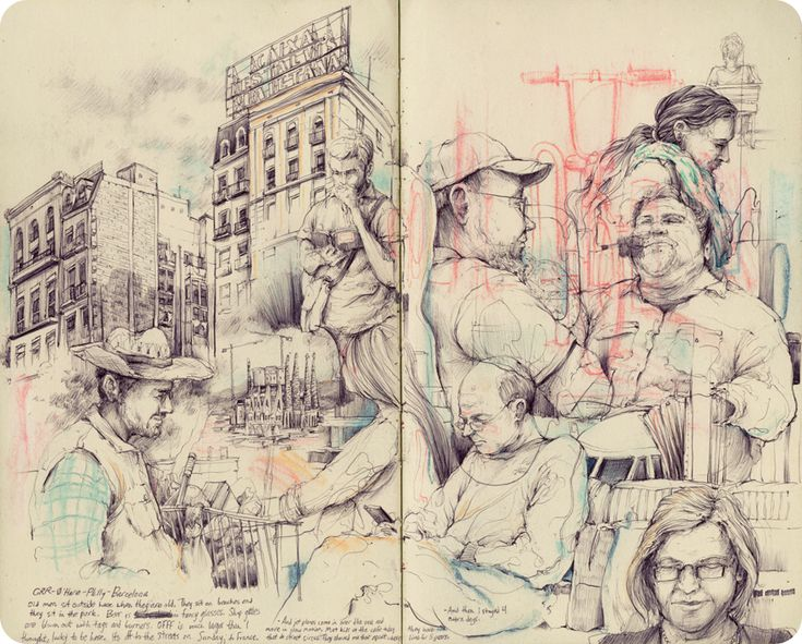 Blog-Pat Perry #sketchbook #drawing #draw