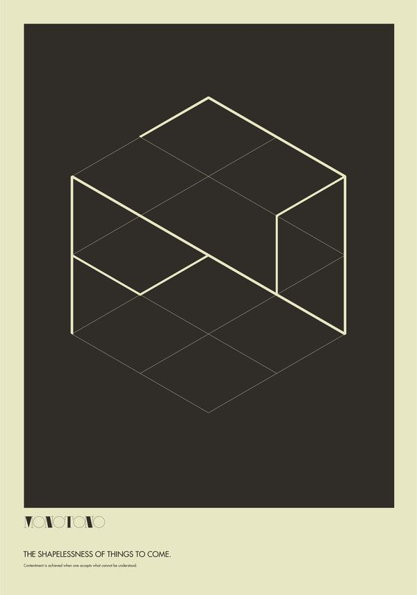 Monotono - The Absurdity of Form. Poster Study. by Ryan Atkinson, via Behance