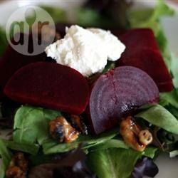 Warm bok choy, beetroot and feta salad @ allrecipes.com.au