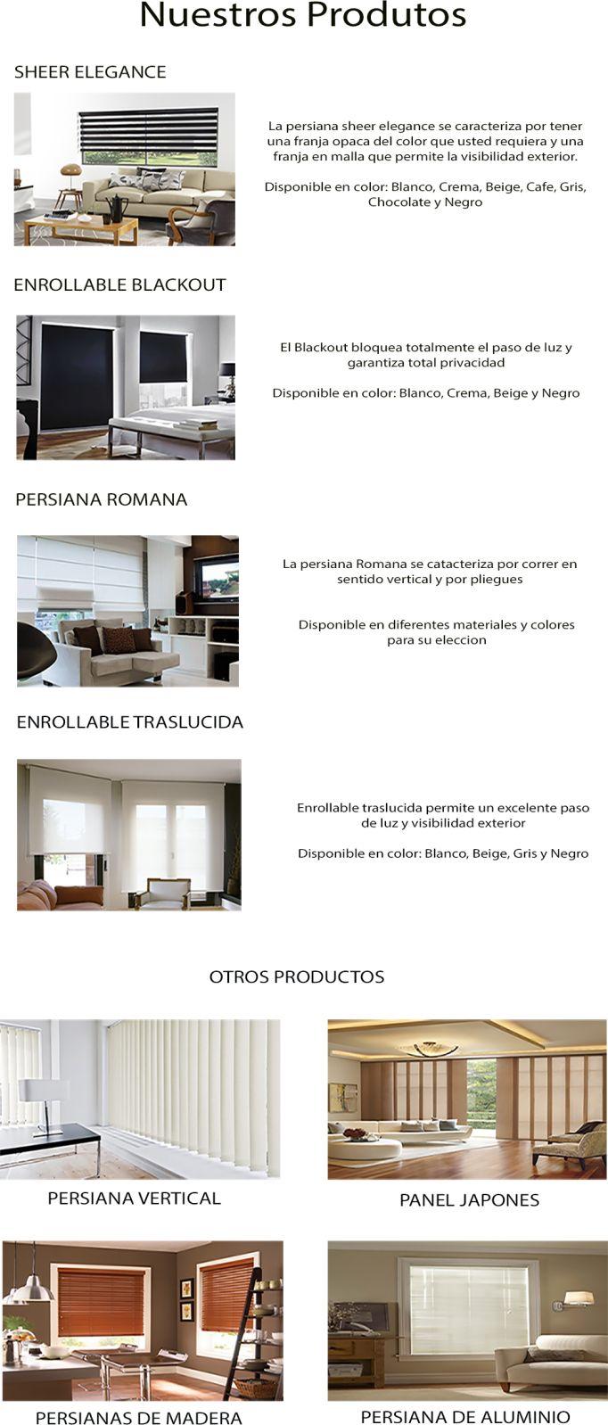 Df5411 esquemas de color casa exteriores con persianas negras - Cortinas Modernas Persianas Blackout Sheer Elegance Romanas 35 000 En Mercado Libre